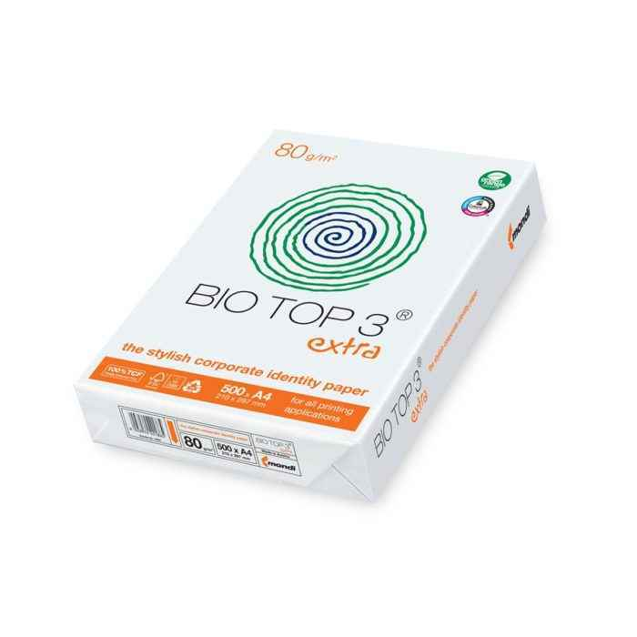 Palettenpreise Laserkopierer Laserdruckerpapier Mondi Bio top 3 tcf